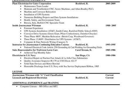 Journeyman Resume - Reentrycorps