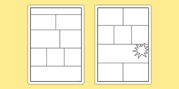 Comic Book Templates - comics, comic, comic book template