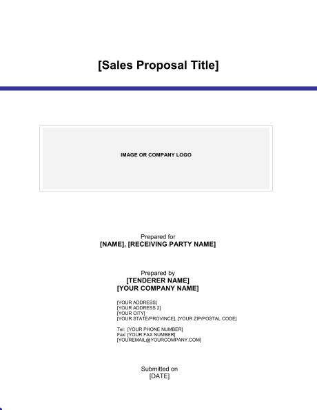 Sales Proposal - Template & Sample Form | Biztree.com