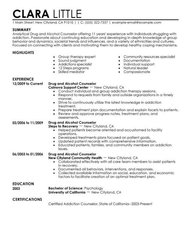 Sample School Counselor Resume | jennywashere.com