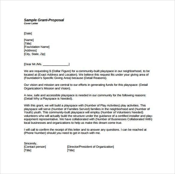 Download Grant Cover Letter Example | haadyaooverbayresort.com