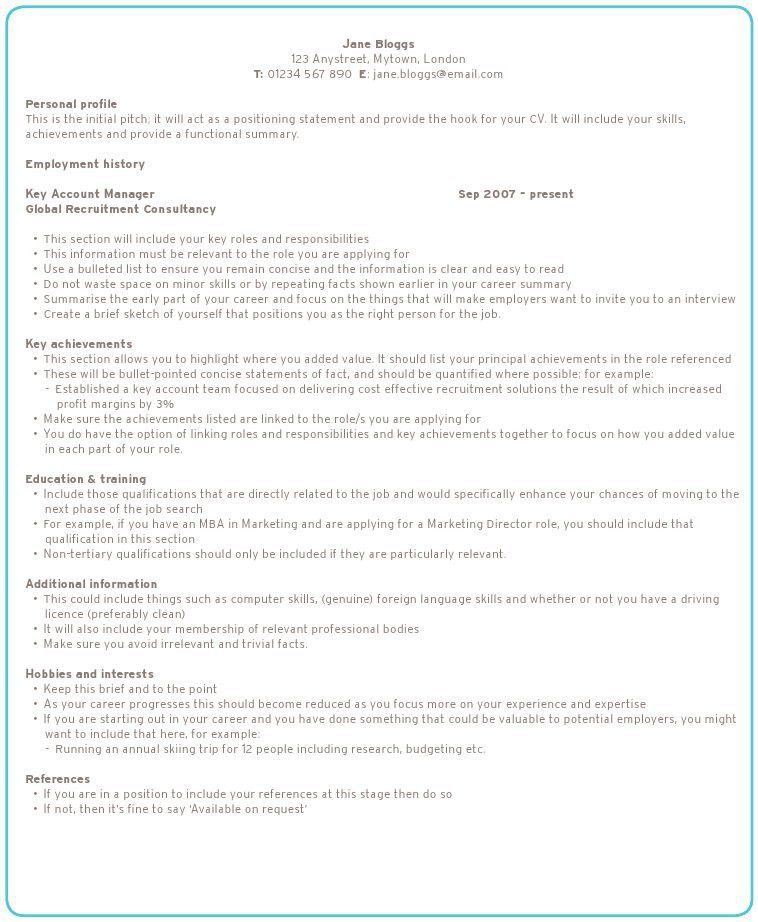 Pleasurable Design Ideas How To Create The Perfect Resume 15 How ...