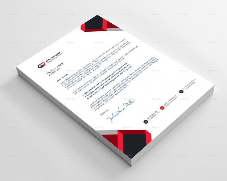 25 best Letterhead Templates For All Types Of Business images on ...