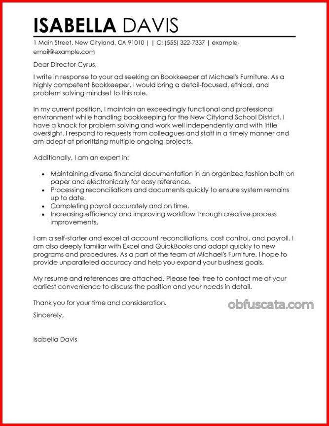 Cover Letter - Obfuscata