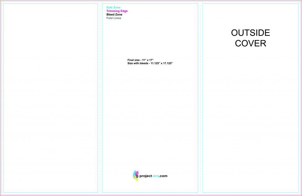 tri fold templates for word