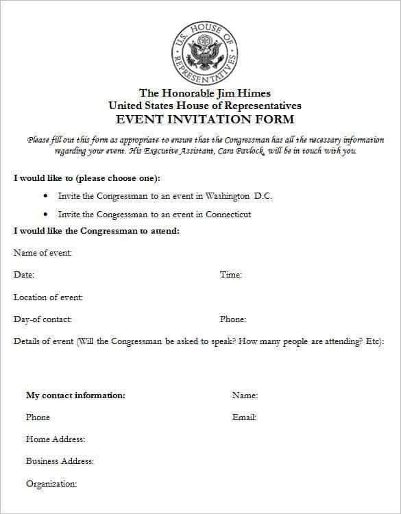 50+ Microsoft Invitation Templates - Free Samples, Examples ...