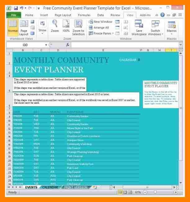 6+ event planning excel | producer resume