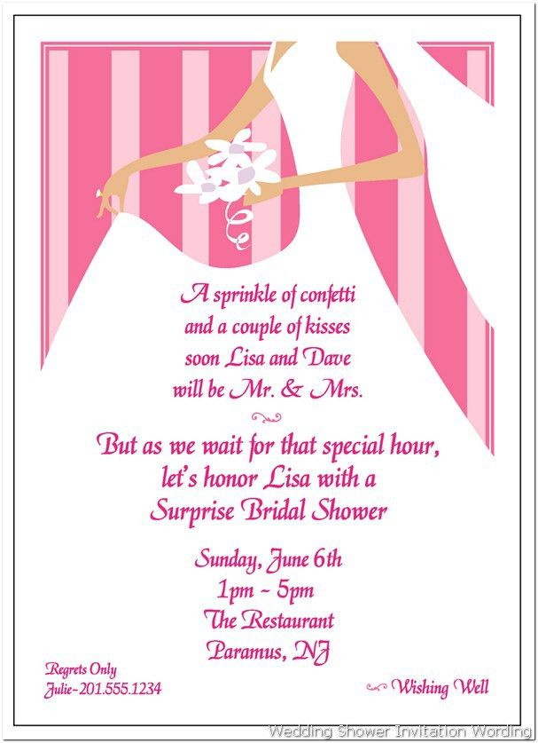 Appealing Wording For Bridal Shower Invitations For Gift Cards 21 ...