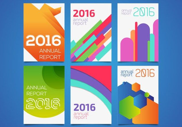 Annual Report Templates Vector Free Vector Download 363743 | CannyPic