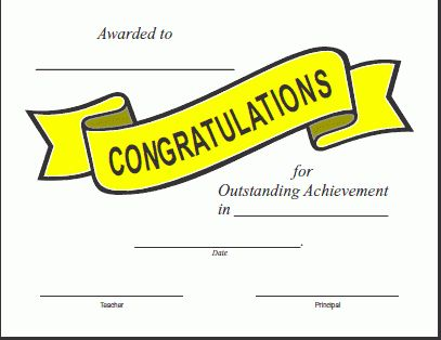 Certificates For Teachers: Behavior Awards and Certificates ...