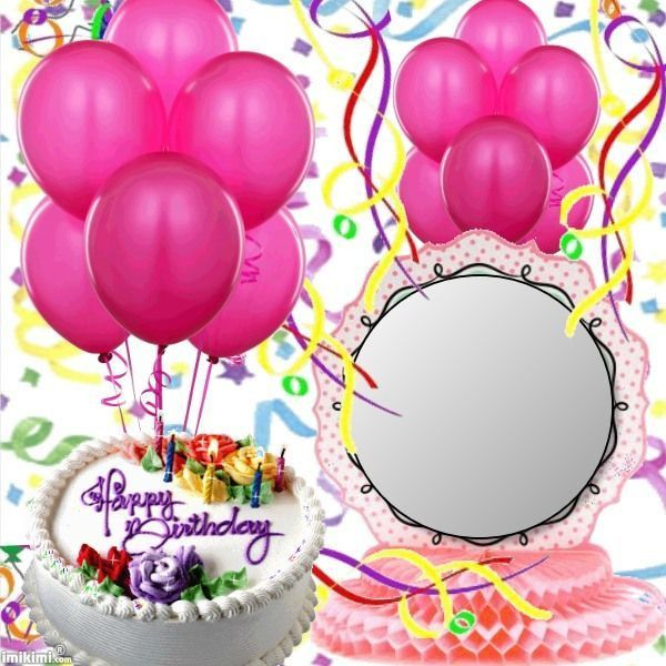 105 best Birthday Frames images on Pinterest | Birthday frames ...