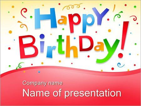 8 Amazing Free and Premium Birthday Templates for your ...