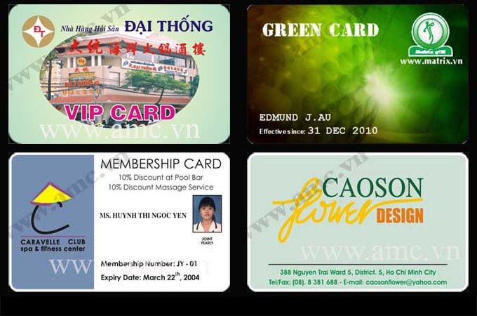 Member card sample - CORPORATION ALLIANCE MEMBER