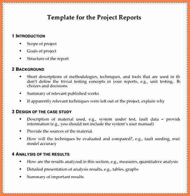 7+ project report sample | Invoice Example 2017