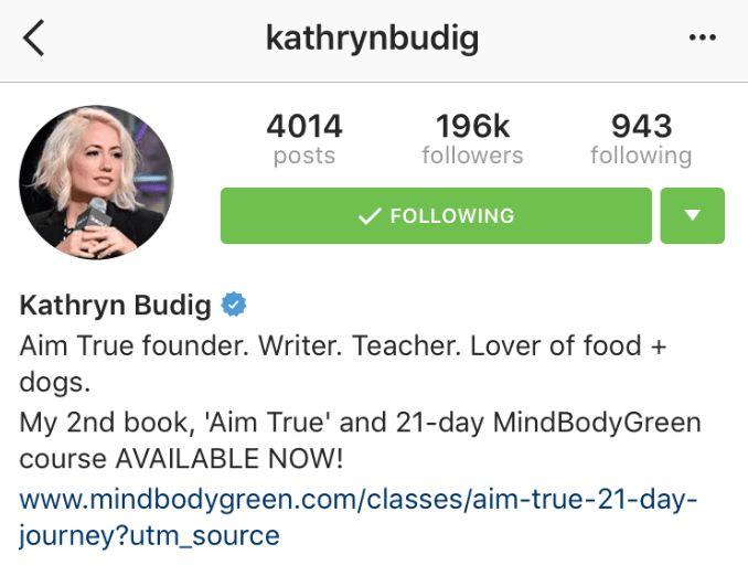 The Art of the Instagram Bio // | The Balanced Blonde