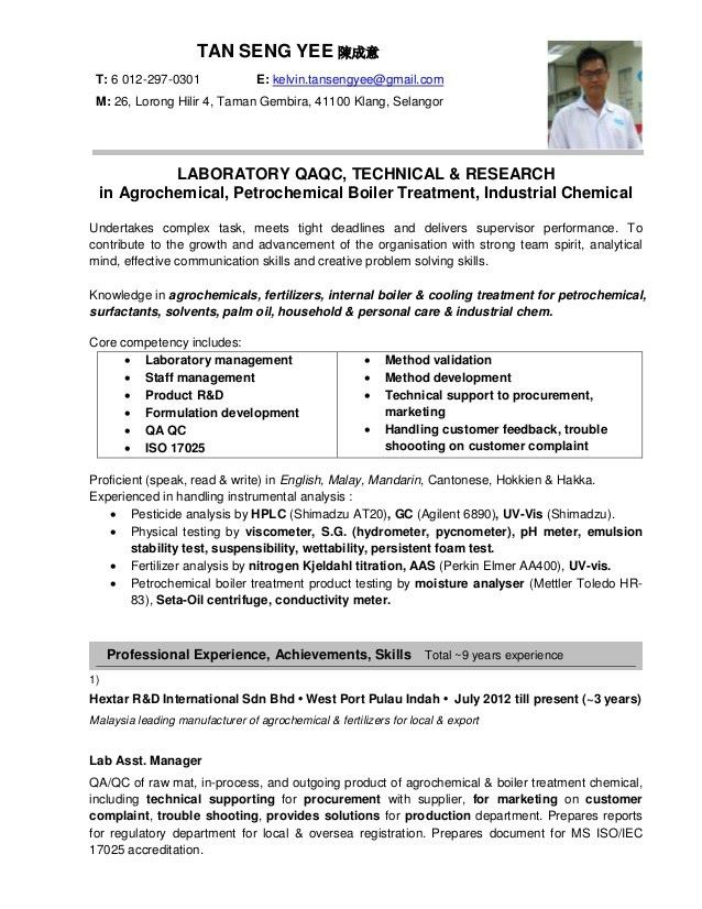 Sample Resume Jobstreet Singapore - Contegri.com