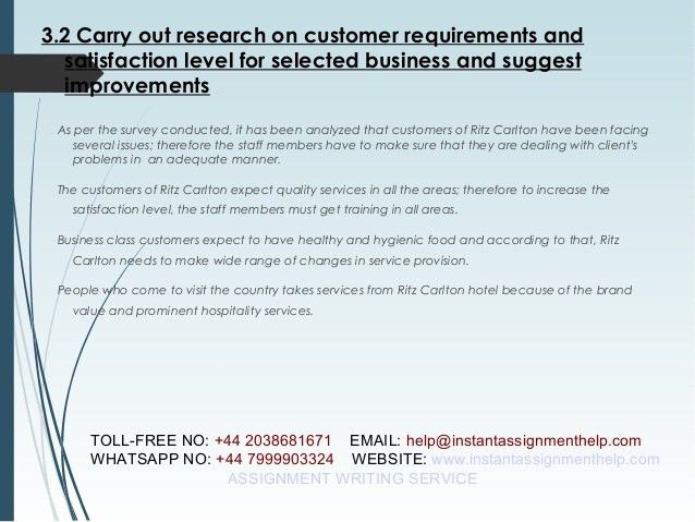 Customer Service Sample Assignment - Instant Assignment Help