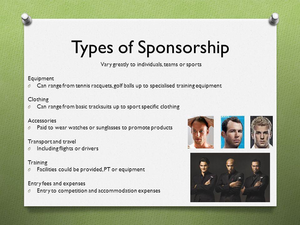 Clothing Sponsorship, provide a corporate sponsorship proposal ...