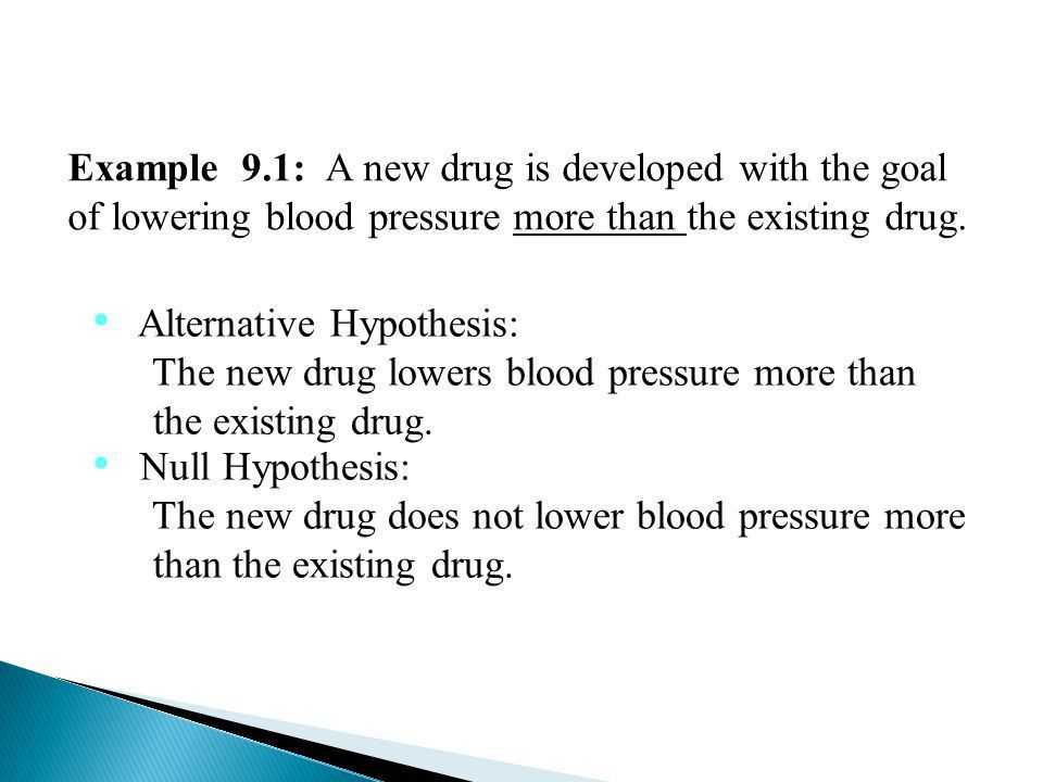 Hypothesis and Test Procedures A statistical test of hypothesis ...