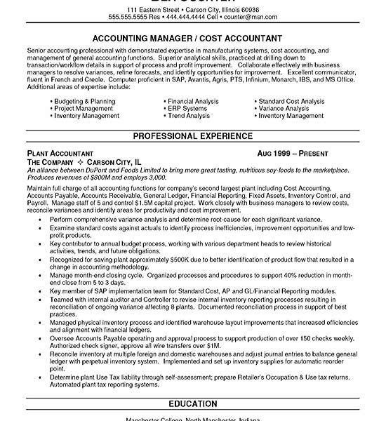 Astounding Design Cpa Resume Sample 14 Accountant Example - CV ...