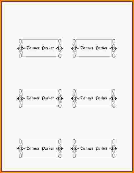 Free Place Card Template.Your Own Place Cards.jpg - Letter ...