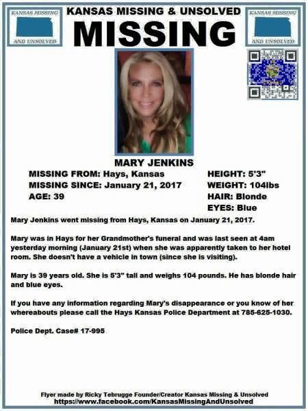 UPDATED Police asking for help in locating missing woman