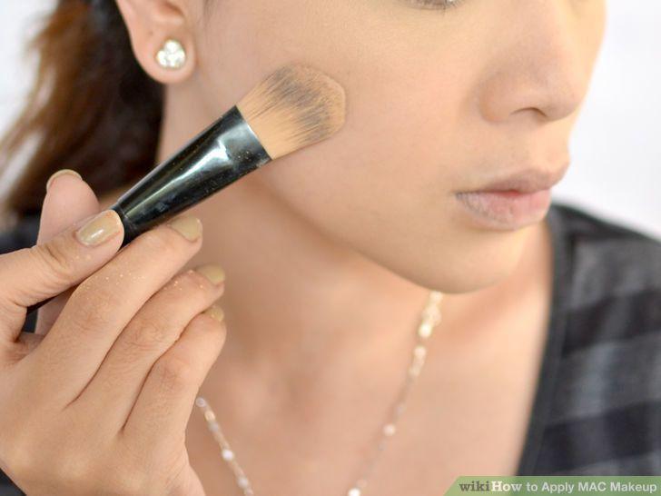 Image Gallery mac makeup application form