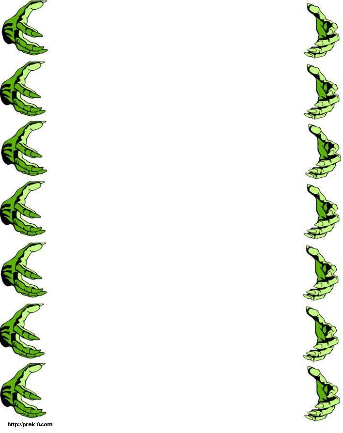 Green Free Printable Latter Borders Design 2014 sadiakomal ...