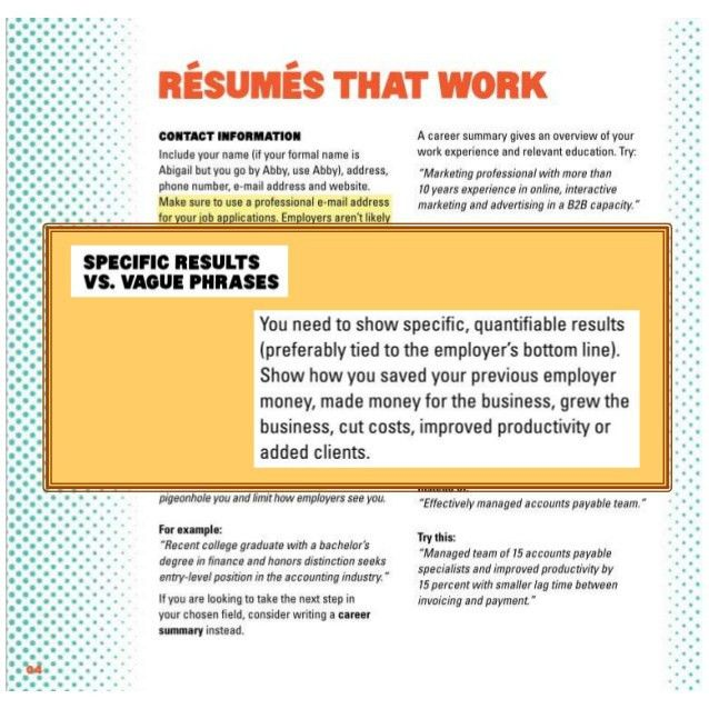 Your Job Search Marketing Documents: How to Make Your Resume and Cove…