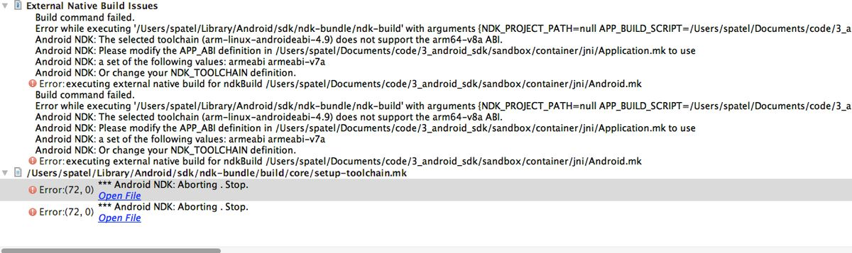 c++ - How to set NDK_PROJECT_PATH in Android Studio - Stack Overflow