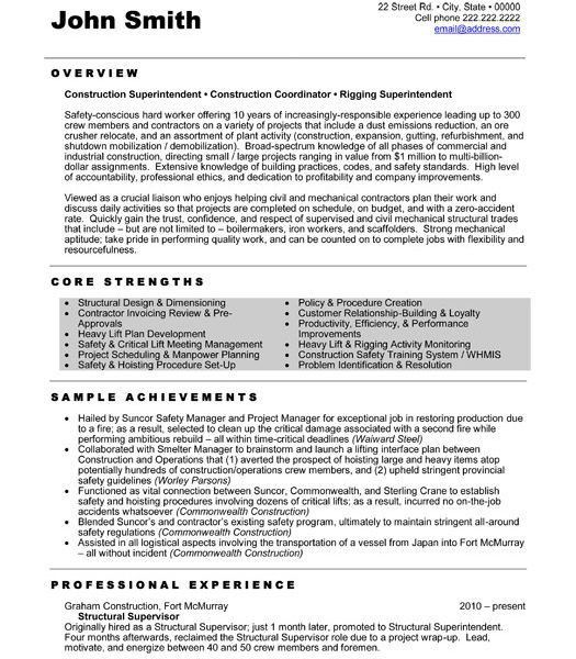 Sample Construction Resume Template. Resume For Laborer In ...