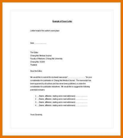 college faculty cover letter examples nice cover letter journal ...