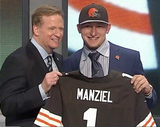 Homeless person convinced Jimmy Haslam to draft Johnny Manziel ...
