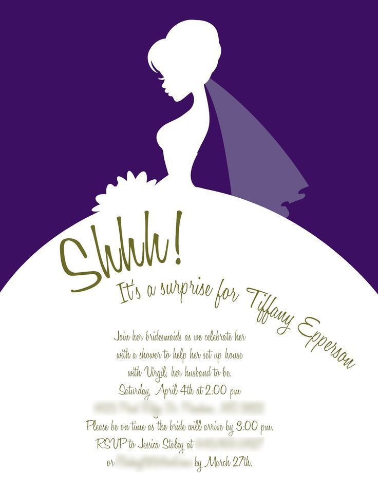 27 best bridal shower invitations images on Pinterest | Bridal ...