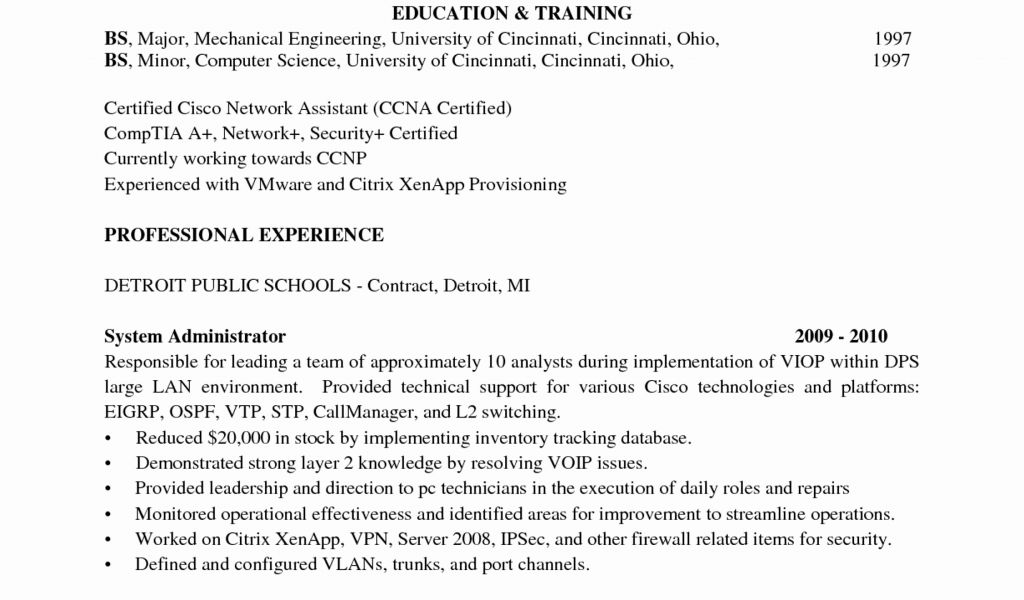 Computer Systems Engineer Cover Letter New Chic Design Vmware ...
