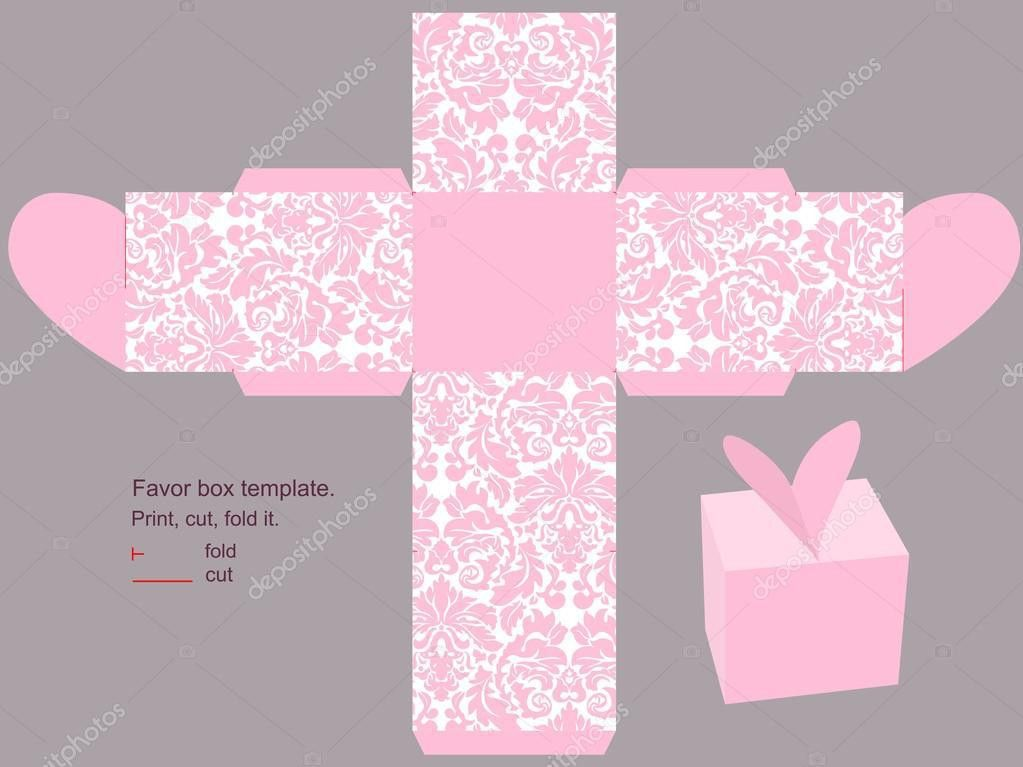 Gift box template — Stock Vector © yaskii #8205611