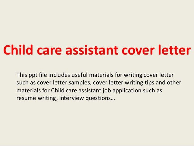 daycare attendant cover letter technician resume cover letter day ...