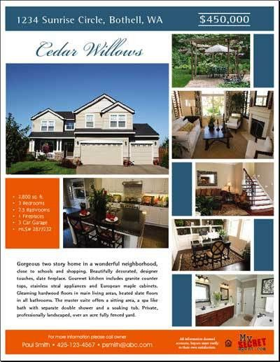 for sale by owner flyer - Google Search | REAL ESTATE FLYERS ...