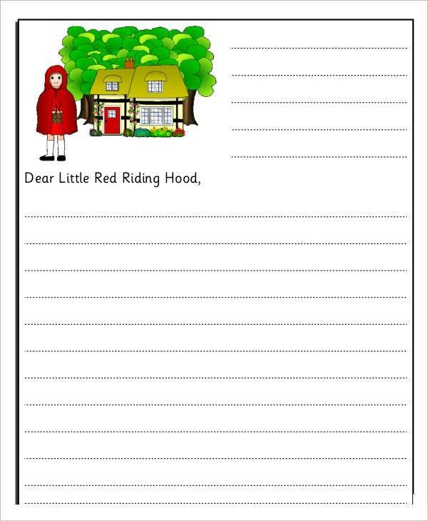 7+ Letter Templates for Kids - Free Word, PDF Documents Download ...