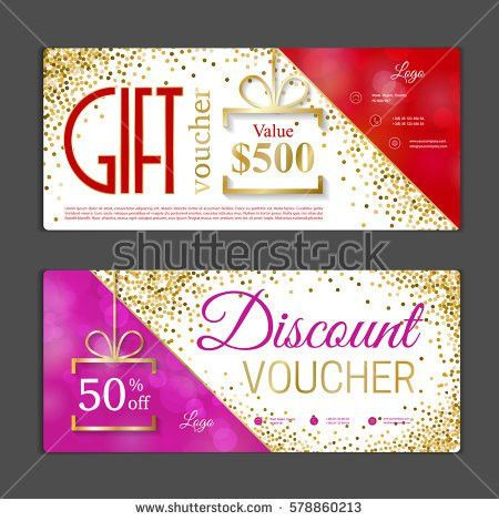 Gift Voucher Template Can Be Use Stock Vector 392067520 - Shutterstock