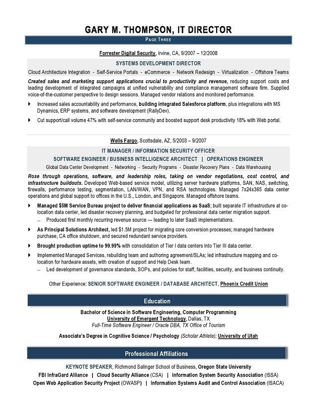 Download Sample It Resume | haadyaooverbayresort.com