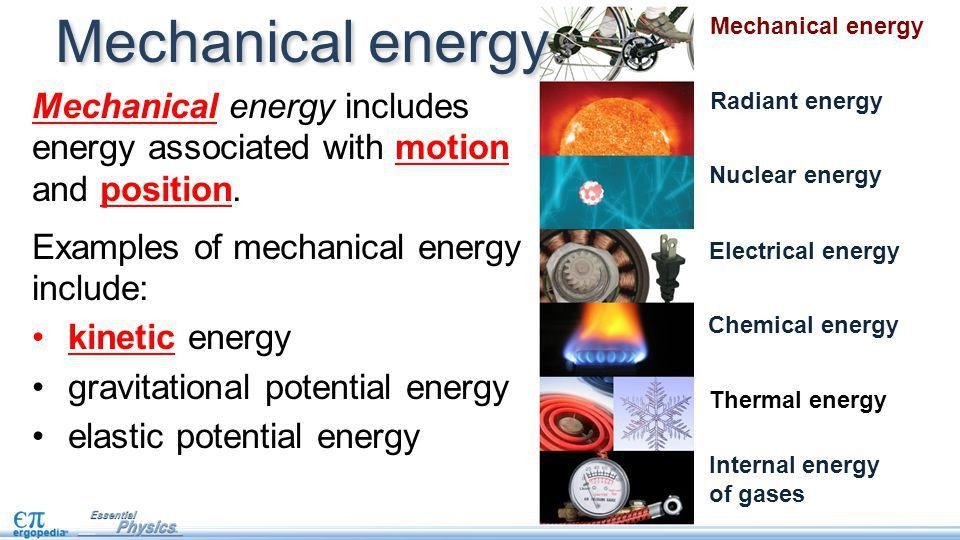 Forms of energy pg. 19. Objectives State a practical definition of ...