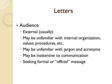 Common Document Formats & Strategies Memos, , Letters Customized ...