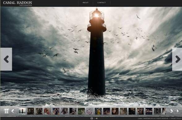 Best Photography Website Templates | Entheos