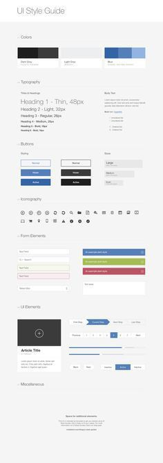 5 Steps to Creating your Brand Style Guide | Style, Photoshop and ...
