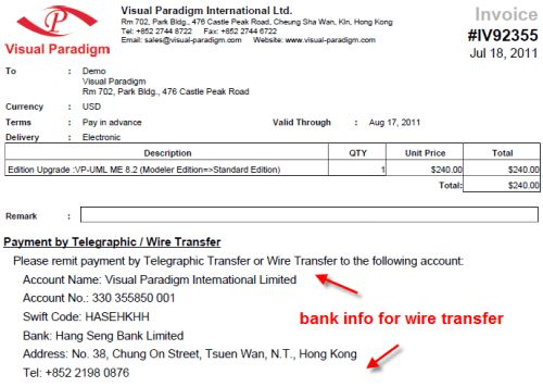 What is bank wire transfer details ☆ Free Downloads