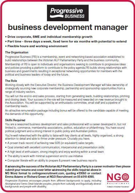 NGO Recruitment Business Development - NGO Recruitment