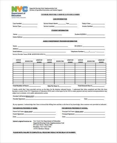 Sample Plumbing Invoice Forms - 7+ Free Documents in Word, PDF