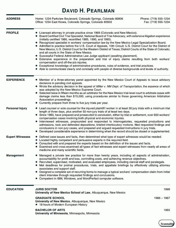 Curriculum Vitae Tips and Samples | RecentResumes.com