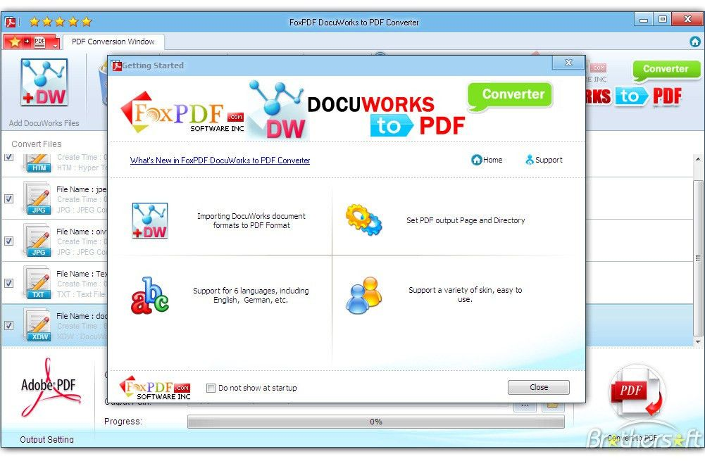 Download Free DocuWorks to PDF Converter, DocuWorks to PDF ...